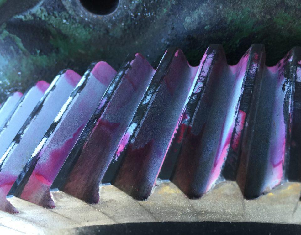 fluorescent dye penetrant testing